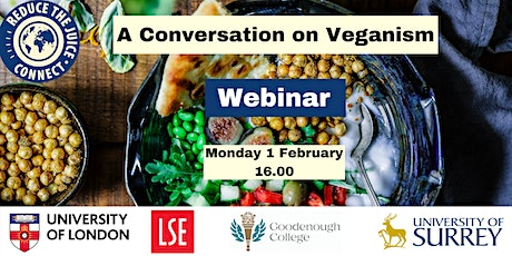 Reduce the Juice Connect: A Conversation on Veganism tickets