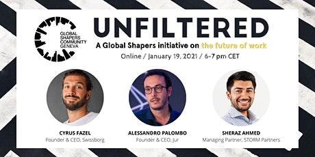 GS | UNFILTERED — Future Of Work Enabled By Blockchain tickets