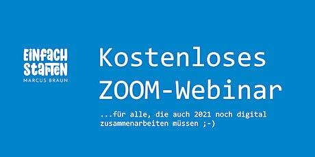 Kostenloses Zoom-Webinar - Februar 2021 tickets