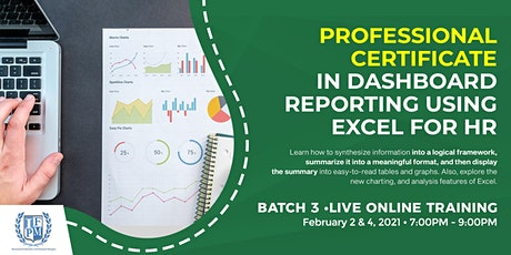 Dashboard Reporting Using Excel for HR - Batch 3 tickets