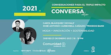 Conversaciones para el Triple Impacto con Carol Blázquez (Ecoalf) entradas