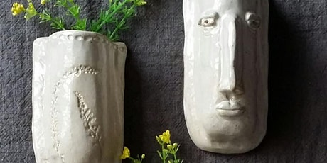 Mini Wall Planter | Pottery Workshop w/ Siriporn Falcon-Grey tickets