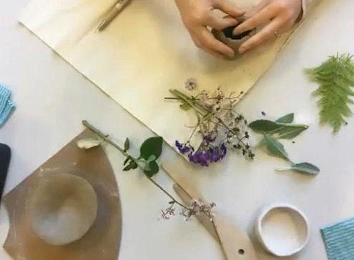Mini Wall Planter | Pottery Workshop w/ Siriporn Falcon-Grey image