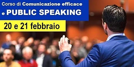 Corso di Comunicazione efficace e Public Speaking biglietti