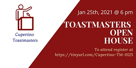Cupertino Toastmasters Meeting tickets
