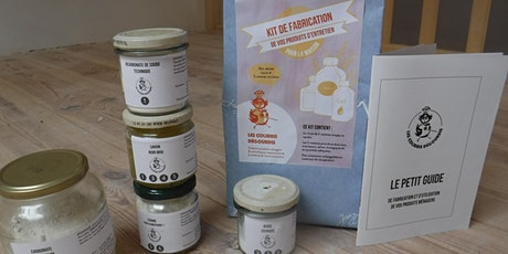 Visio-atelier découverte Kit de fabrication Produits ménagers tickets