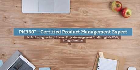 PM360° – Certified Product Management Expert, Online Tickets