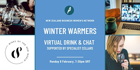 Winter Warmers: Virtual Drink & Chat tickets