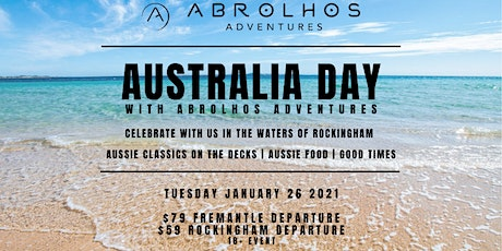 Australia Day in Rockingham with Abrolhos Adventures (Fremantle Boarding) tickets