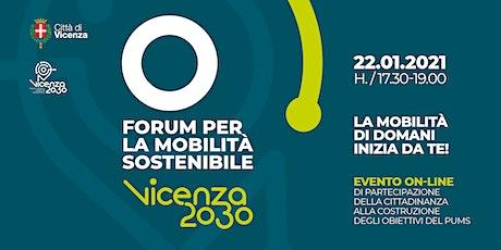 Forum per la Mobilità Sostenibile Vicenza 2030 biglietti