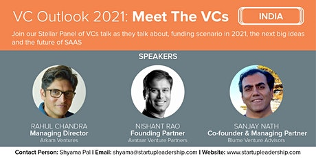 SLP India: VC Outlook 2021 & Meet The VCs tickets