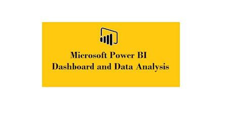 Microsoft Power BI Dashboard & Data Analysis 2 Days Training in London City tickets