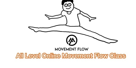 All Level Online Movement Flow Class tickets