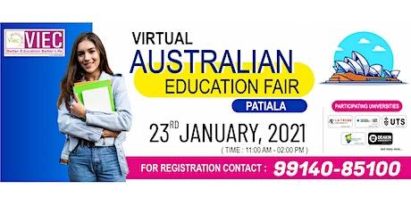 VIEC's Virtual Australian Education Fair, Patiala | 23rd January, 2021 tickets