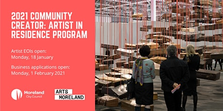 Community Creator: Artist in Residence  2021 Program INFORMATION SESSION tickets