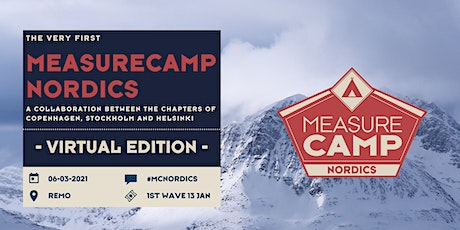 MeasureCamp Nordics 2021 tickets