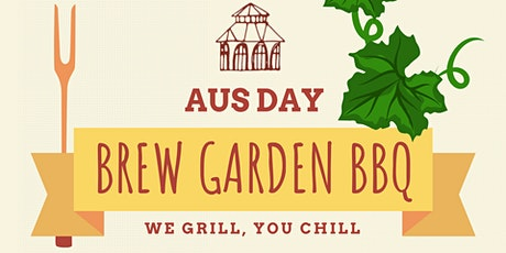 AUS DAY BREW GARDEN BBQ tickets