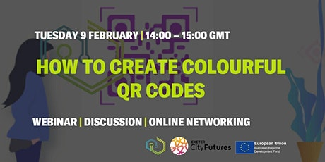 How to Create Colourful QR Codes tickets