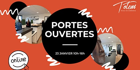 Journée Portes Ouvertes TOTEM | en ligne & sur place| samedi 23 janvier billets