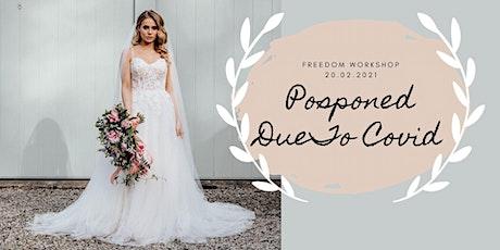 LUXURY WEDDING PORTFOLIO BUILDING WORKSHOP | Freedom Workshops | Cornwall tickets