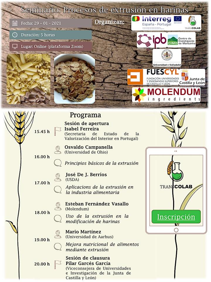 Imagen de Seminario:Procesos de extrusión en harinas/Processos de extrusão em farinha