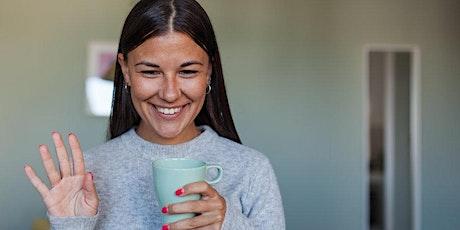 Online Meetup - Designer Coffee Morning - 1 tickets