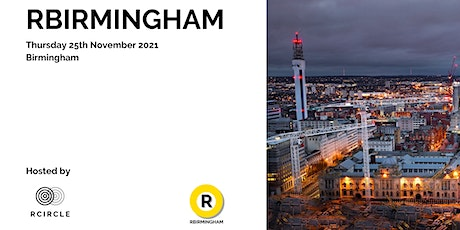 RBIRMINGHAM - The RCIRCLE unconference comes to Birmingham tickets