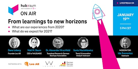 hubraum on air: From learnings to new horizons Tickets