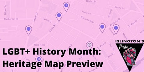 Islington's Pride: Digital Heritage Map Preview tickets