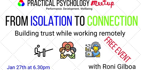 From Isolation to Connection - Building Trust while Working Remotely tickets