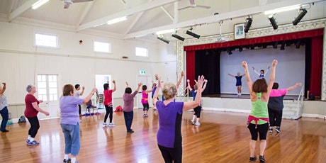 FREE Zumba Gold at Wynnum Municipal Hall tickets
