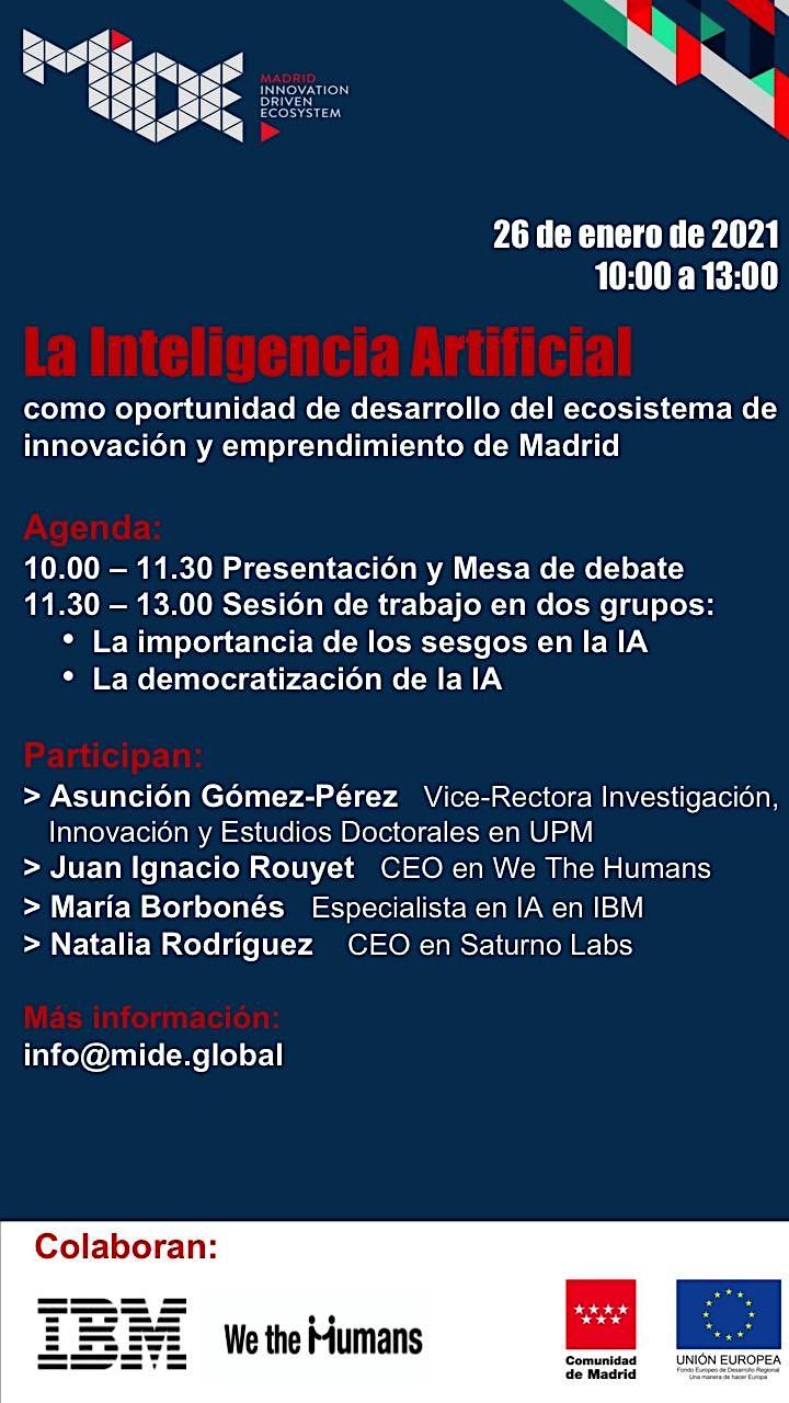 Imagen de IA: oportunidad para el ecosistema de innovación y emprendimiento de Madrid