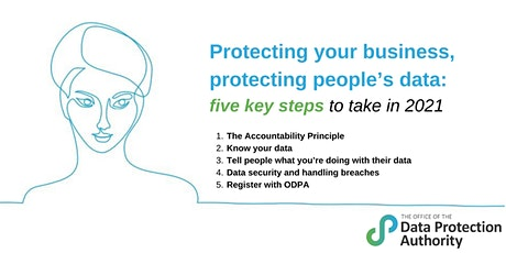 Protecting Your Business and People's Data - 5 Key Steps from the ODPA tickets