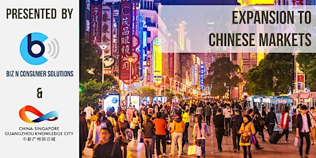 Expand to China Market thru Business Matching tickets