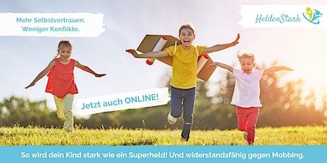 HeldenStark Online - Selbstbehauptungstraining für Kinder von 5 - 10 Jahren Tickets