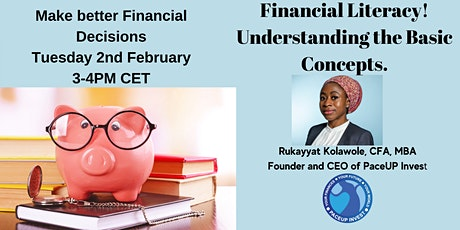 Financial Literacy! Understanding the Basic Concepts. tickets