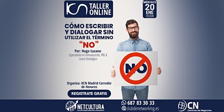Taller Online - Cómo escribir y dialogar sin utilizar el término NO entradas