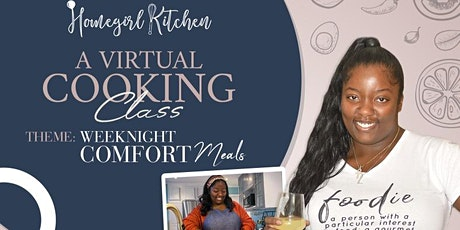 Homegirl Kitchen: Virtual Cooking  Party tickets