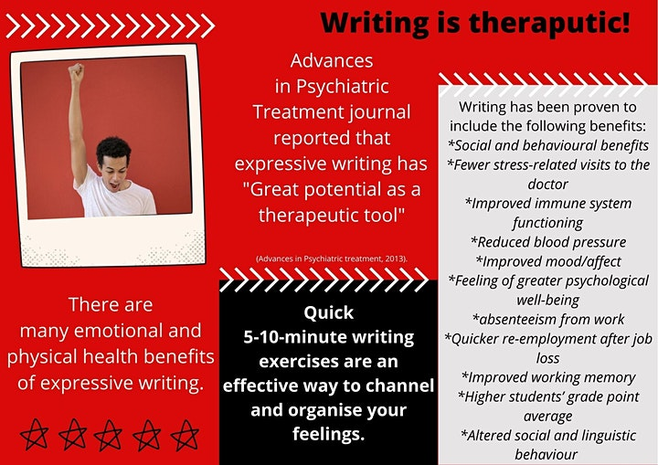 Express Yourself For Mental Health - Creative Writing image