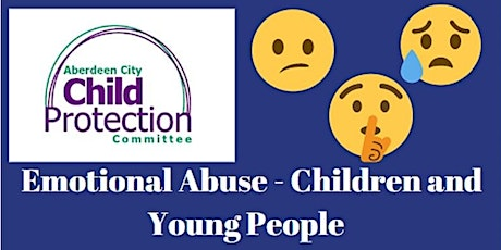 Emotional Abuse in Children and Young People - Virtual Training tickets