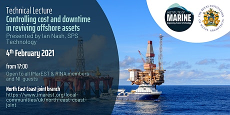 WEBINAR: Controlling cost and downtime in reviving offshore assets tickets