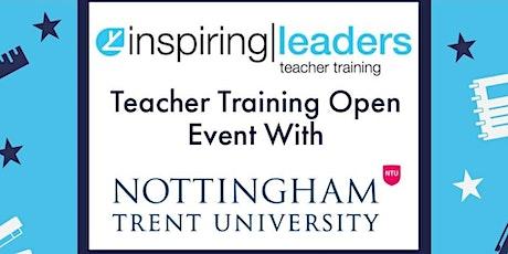 Inspiring Leaders & Nottingham Trent University - Teacher Training Event tickets