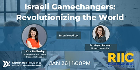 [MONTHLY SERIES] Israeli Gamechangers: Revolutionizing the World tickets