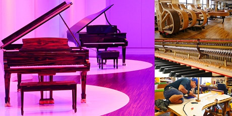 'Steinway & Sons: Following the Journey of the World's Best Piano' Webinar tickets