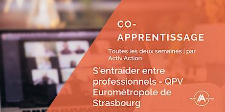 Co-apprentissage entre professionnels - QPV Eurométropole de Strasbourg billets