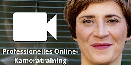 Professionelles Online-Kameratraining Tickets