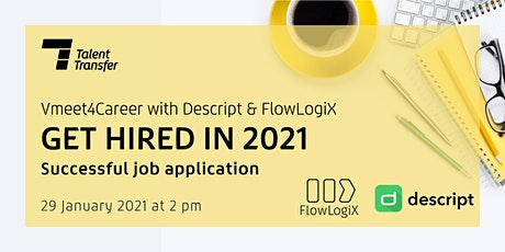 Vmeet4Career: Successful job application in 2021 Tickets