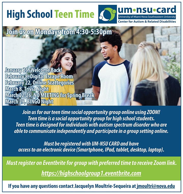 High School  Teen Time image