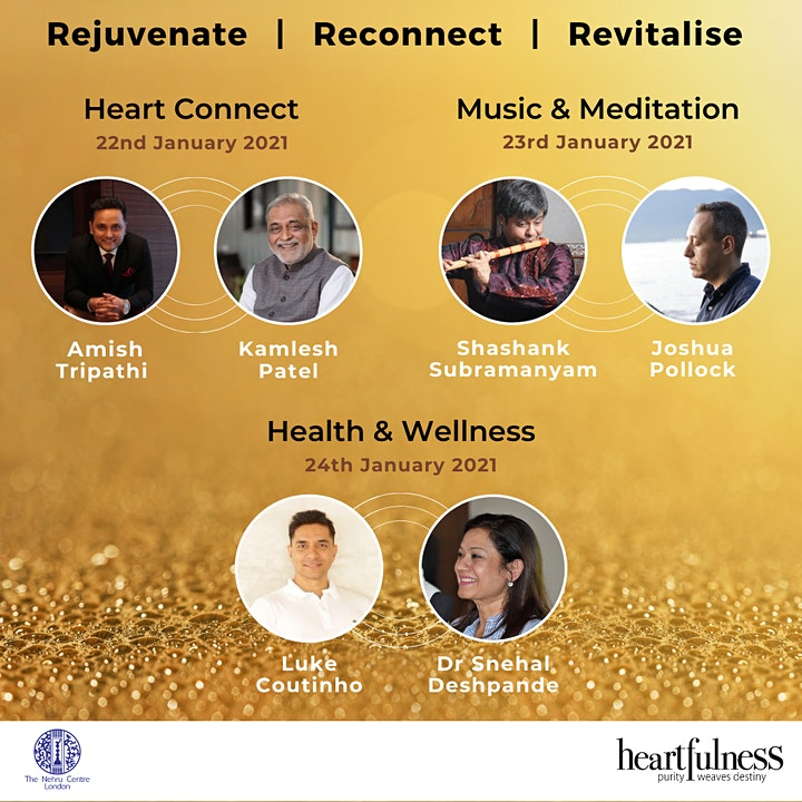 Rejuvenate, Reconnect and Revitalise   Experience Heartfulness Meditation image
