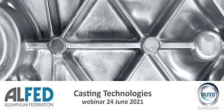 Casting Technologies - Module 10 tickets